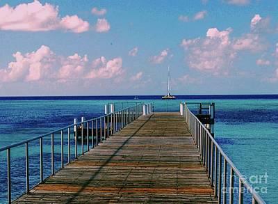 Photograph - Ocean Pier by Gary Wonning