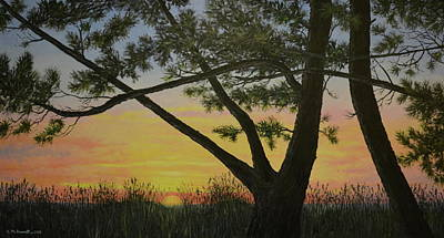 Painting - Ocean Pines by Kathleen McDermott