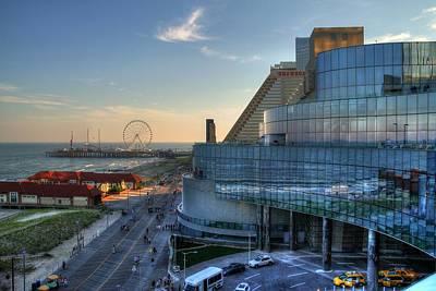 Photograph - Ocean Resort Atlantic City Boardwalk by John Loreaux