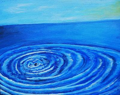 Painting - Ocean Ripple by April Harker