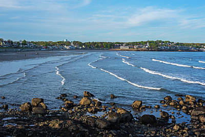 Photograph - Ocean Ripples On The Lynn Waterfront Lynn Ma From Red Rock Park by Toby McGuire