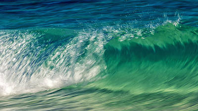 Water Filter Photograph - Ocean Ripples by Stelios Kleanthous