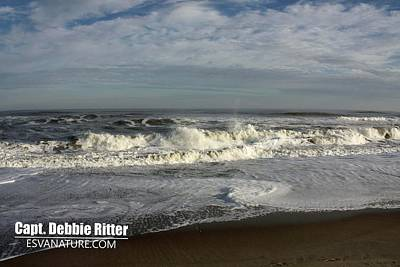 Photograph - Ocean Riptide 0614_1076 by Captain Debbie Ritter