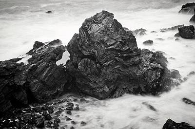 Photograph - Ocean Rock Carving, Mendocino Headlands, California by Flying Z Photography by Zayne Diamond