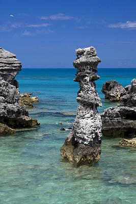 Ocean Rock Formations Art Print