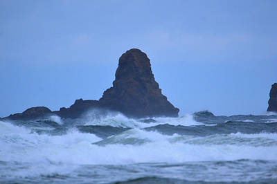Photograph - Ocean Rocks At Cannon Beach by Kathy Kelly
