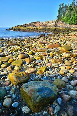 Photograph - Ocean Rocks by Ray Mathis