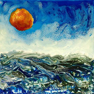Ocean Run Art Print by Paul Tokarski