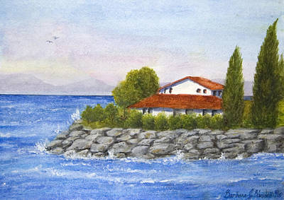 Painting - Ocean Scene  by Barbara J Blaisdell