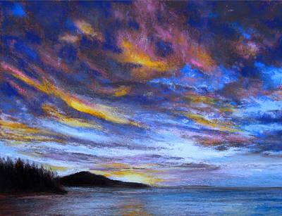 Pastel - Ocean Sky by Susan Jenkins