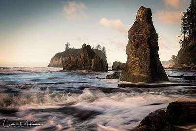Photograph - Ocean Spire Signature Series by Chris McKenna
