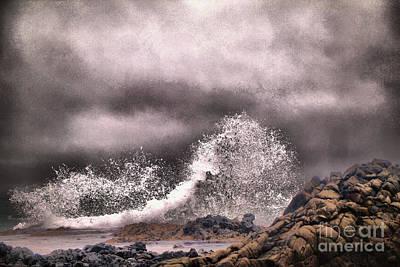 Photograph - Ocean Splash by Jeff Swan
