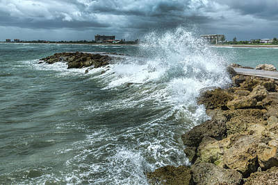 Photograph - Ocean Spray by John M Bailey