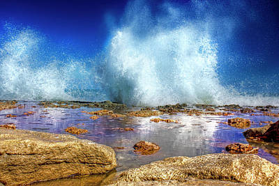 Mark Andrew Thomas Royalty-Free and Rights-Managed Images - Ocean Spray by Mark Andrew Thomas