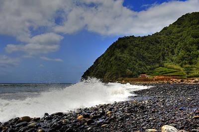 Photograph - Ocean Spray Under Sky by Joseph Amaral