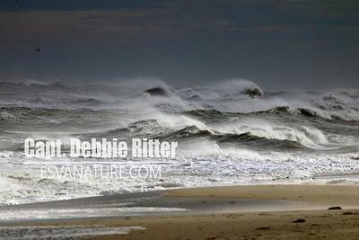 Photograph - Ocean Storm 3912 by Captain Debbie Ritter