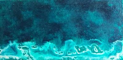 Painting - Ocean Storm by Sue McElligott