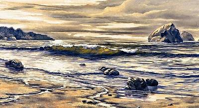 Painting - Ocean Streams by Lynne Wright