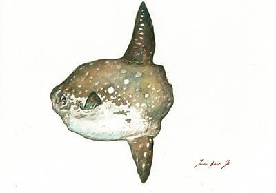 Ocean Sunfish Mola Mola Art Print