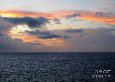 Photograph - Ocean Sunrise 7 by Randall Weidner