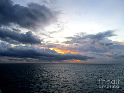 Photograph - Ocean Sunrise 9 by Randall Weidner