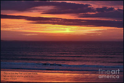 Photograph - Ocean Sunrise Inspiration by Sandra Huston