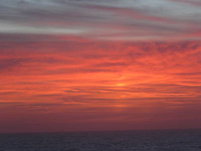 Photograph - Ocean Sunrise by Kathy Long