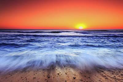Photograph - Ocean Sunrise March 9 2017 by Dapixara Art
