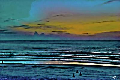 Photograph - Ocean Sunrise View by Gina O'Brien