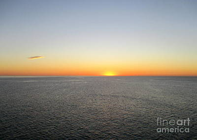 Photograph - Ocean Sunset 10 by Randall Weidner