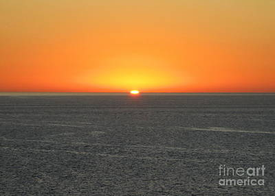 Photograph - Ocean Sunset 11 by Randall Weidner