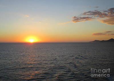 Photograph - Ocean Sunset 20 by Randall Weidner