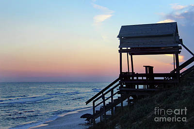 Photograph - Ocean Sunset 2016 by Karen Adams