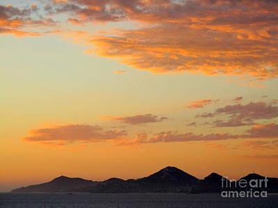 Photograph - Ocean Sunset 21 by Randall Weidner