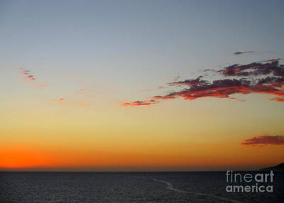 Photograph - Ocean Sunset 22 by Randall Weidner