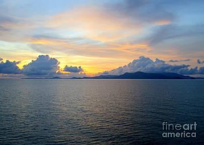 Photograph - Ocean Sunset 24 by Randall Weidner