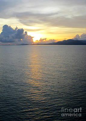 Photograph - Ocean Sunset 28 by Randall Weidner