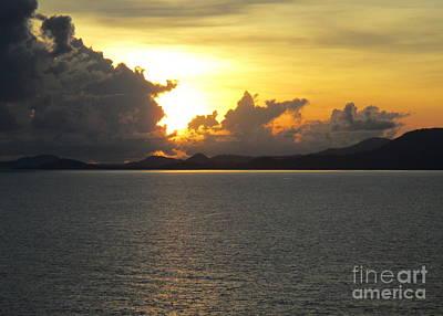 Photograph - Ocean Sunset 29 by Randall Weidner