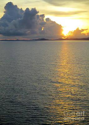 Photograph - Ocean Sunset 30 by Randall Weidner
