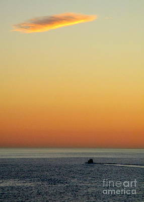 Photograph - Ocean Sunset 9 by Randall Weidner