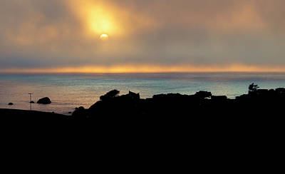 Photograph - Ocean Sunset by Brent Dolliver