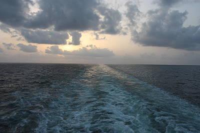 Photograph - Ocean Sunset by Carolyn Ardolino