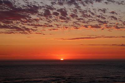 Photograph - Ocean Sunset In Washington - 2 by Christy Pooschke