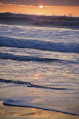 Ocean Sunset Art Print by Joyce Sherwin