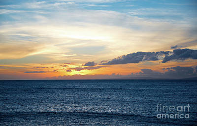 Photograph - Ocean Sunset by Kelly Wade