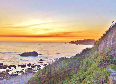 Photograph - Ocean Sunset by Marilyn Diaz