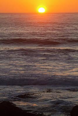 Photograph - Ocean Sunset by Mark Miller