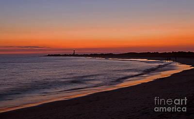 Ocean Sunset Art Print by Robert Pilkington