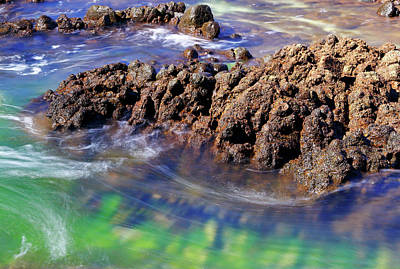 Photograph - Ocean Swirl by Nicholas Blackwell