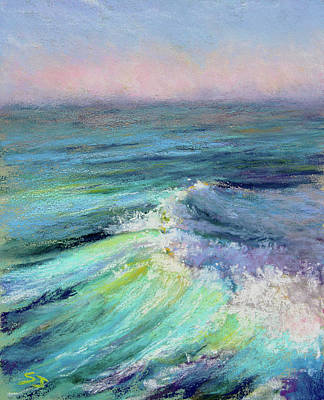 Painting - Ocean Symphony by Susan Jenkins